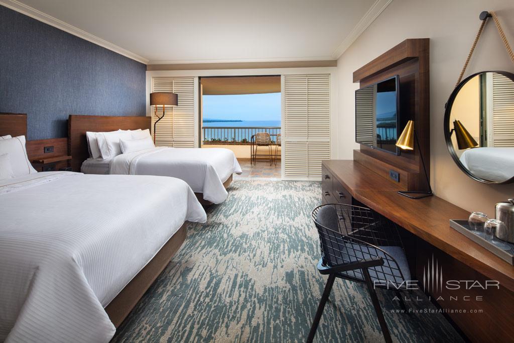 Double Queen Guest Room at The Westin Hapuna Beach Resort, Kohala Coast, HI