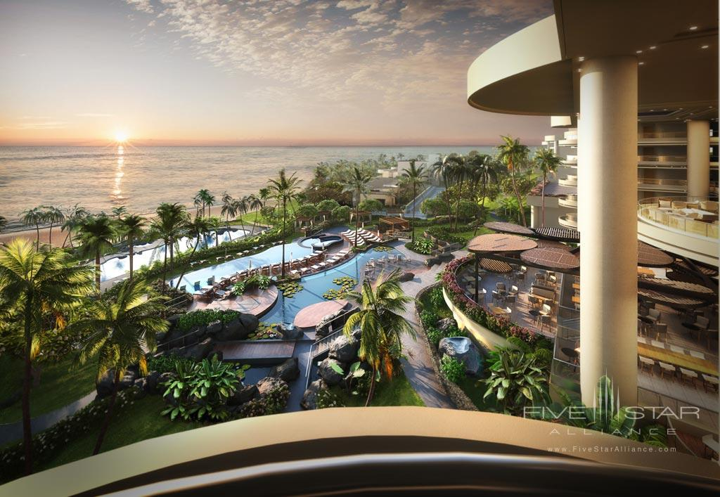 Balcony Views at The Westin Hapuna Beach Resort, Kohala Coast, HI