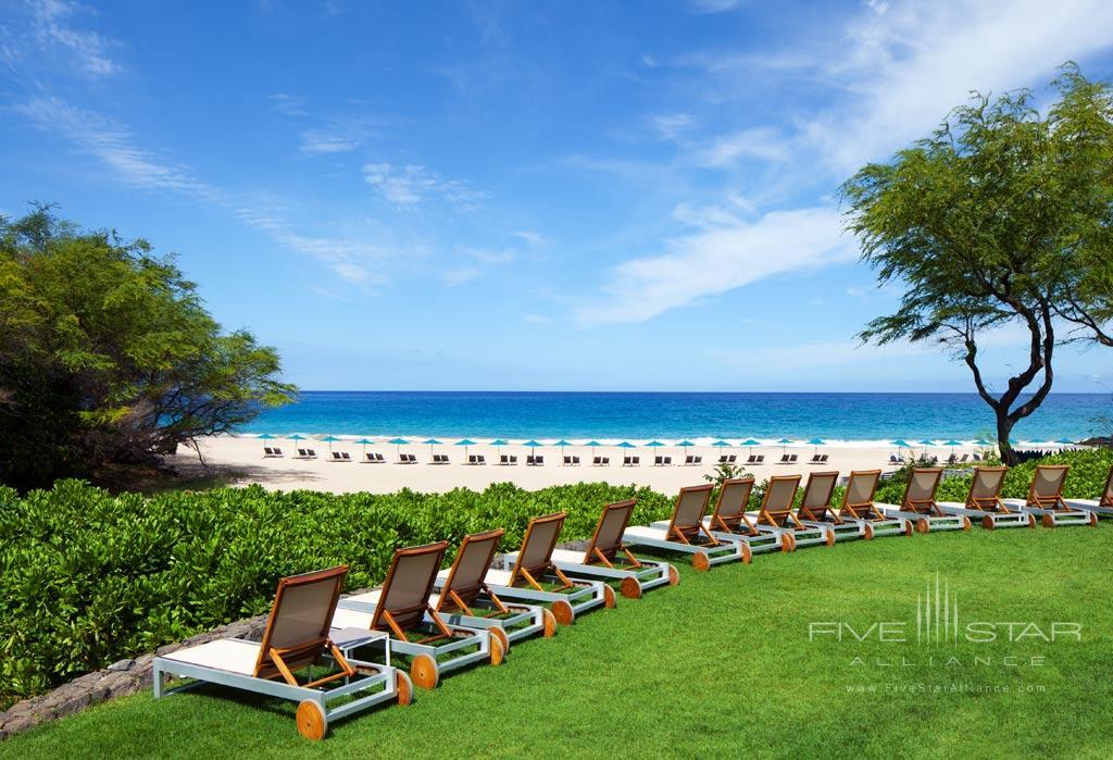 Beach Lounge at The Westin Hapuna Beach Resort, Kohala Coast, HI