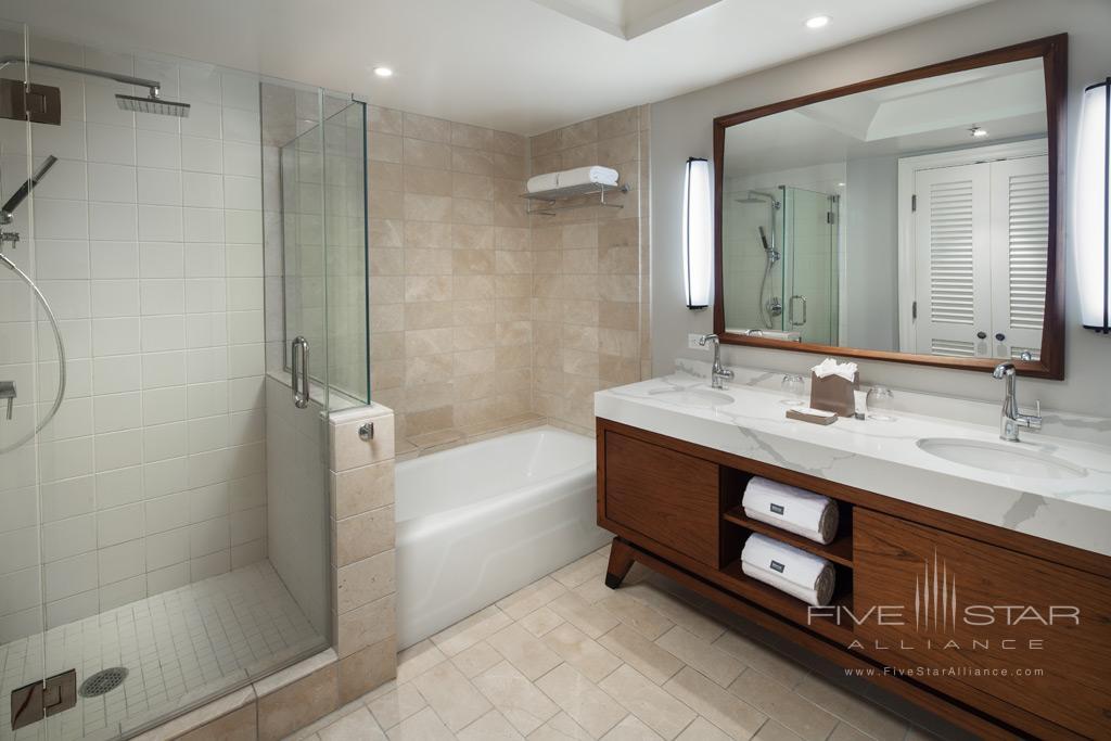 Guest Bath at The Westin Hapuna Beach Resort, Kohala Coast, HI