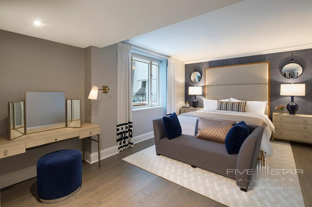 Apartment Suite Bedroom at Omni Berkshire Place New York, United States
