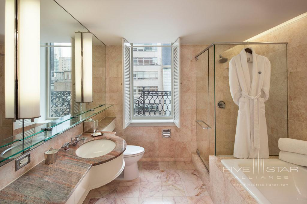 5th Avenue Suite with LUX Terrace Bath at Omni Berkshire Place New York, United States
