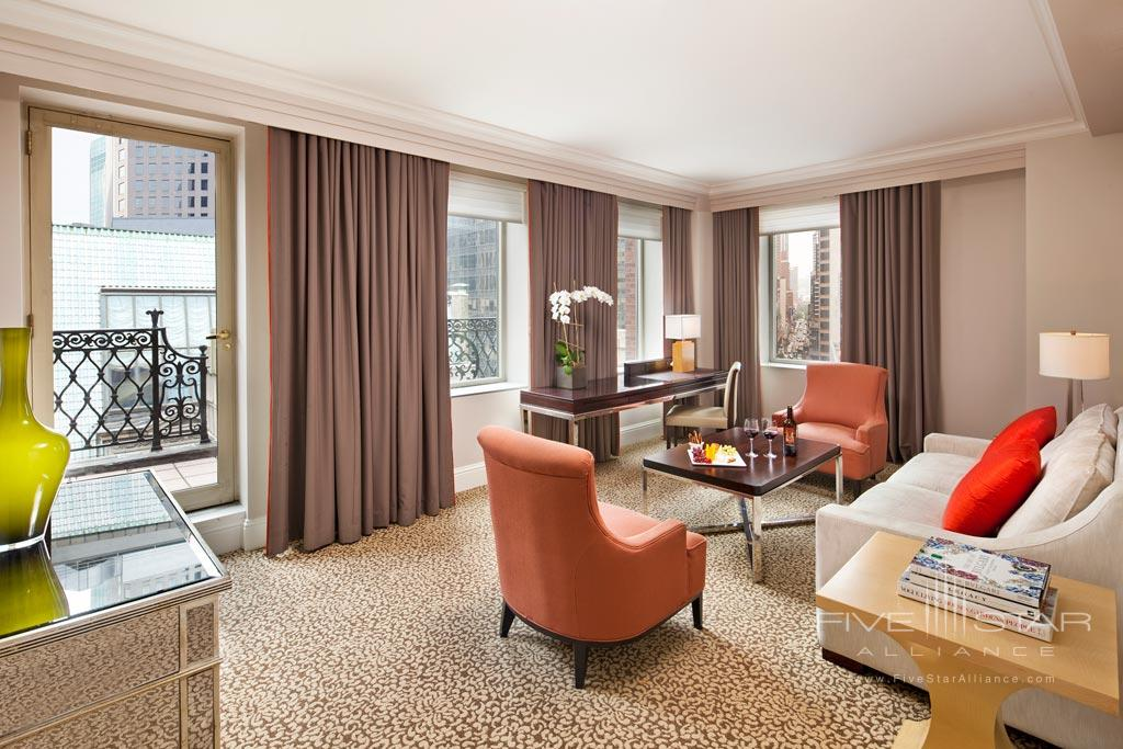 5th Avenue Suite with LUX Terrace Living at 5th Avenue Suite with LUX Terrace at Omni Berkshire Place New York, United States