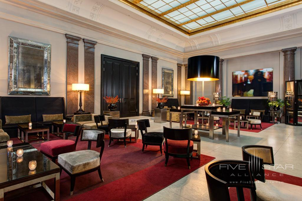 Lounge at Rocco Forte Hotel de Rome, Berlin, Germany