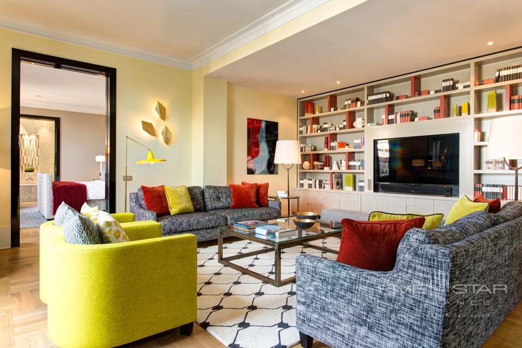 Bebel Suite Living at Rocco Forte Hotel de Rome, Berlin, Germany