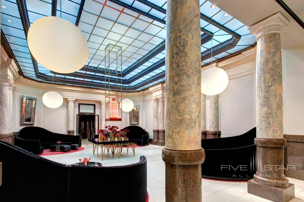 Lobby of Rocco Forte Hotel de Rome, Berlin, Germany
