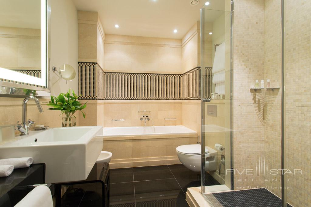 Classic Guest Bath at Rocco Forte Hotel de Rome, Berlin, Germany