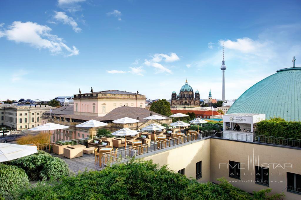 Rooftop Terrace at Rocco Forte Hotel de Rome, Berlin, Germany