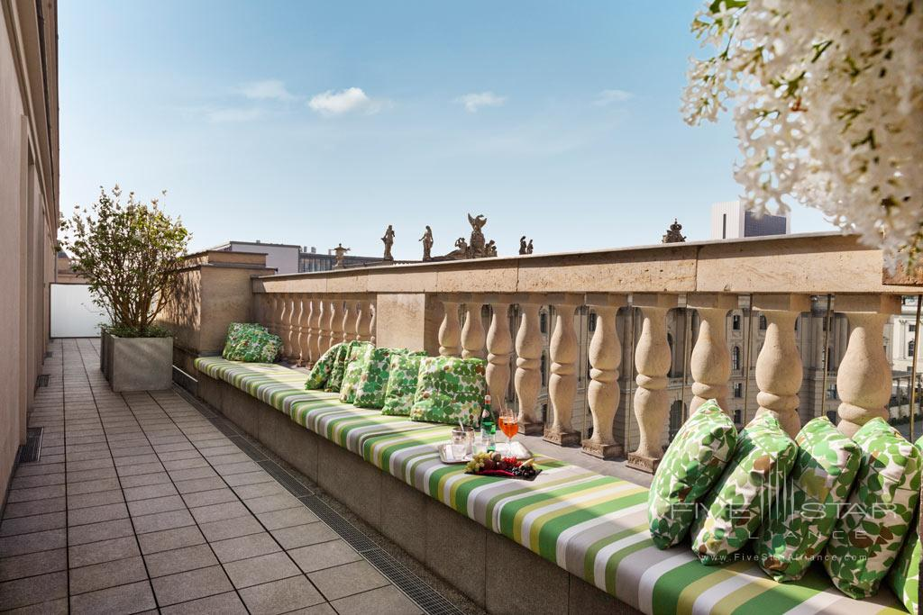 Bebel Suite Terrace at Rocco Forte Hotel de Rome, Berlin, Germany