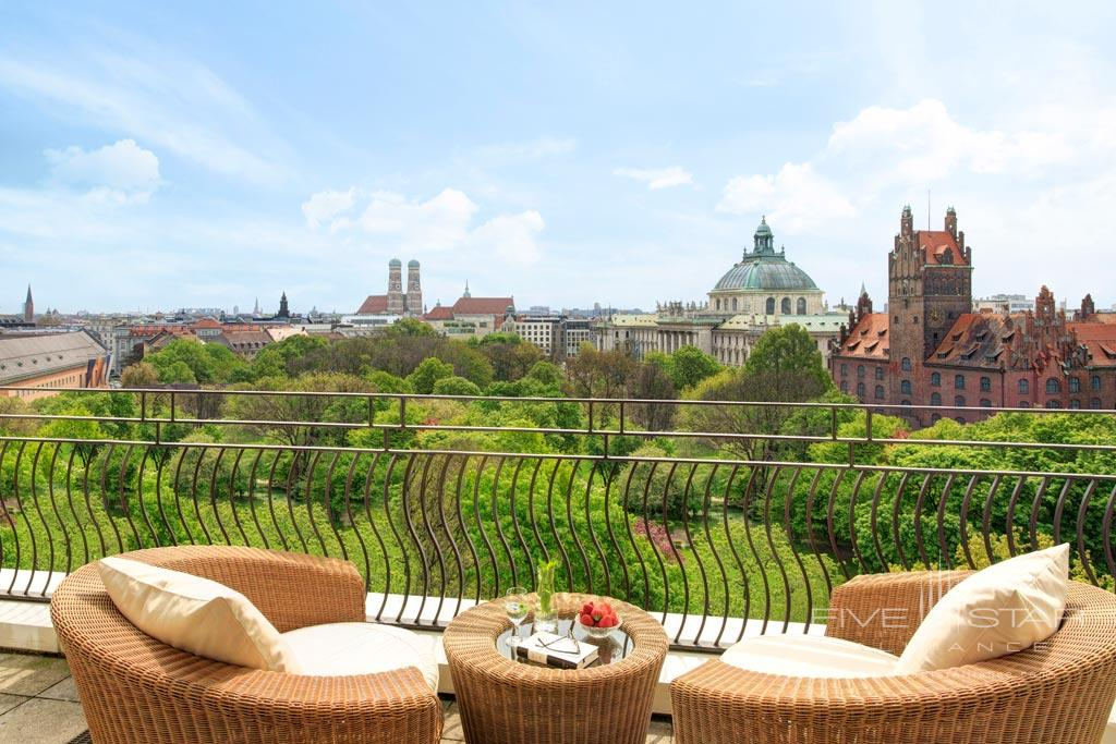 Monforte Suite Terrace at The Charles Hotel Munich, Germany