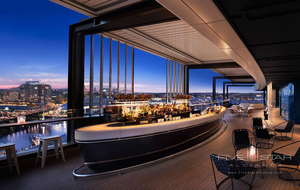 Bar and Lounge at Hyatt Regency Sydney, NSW, Australia