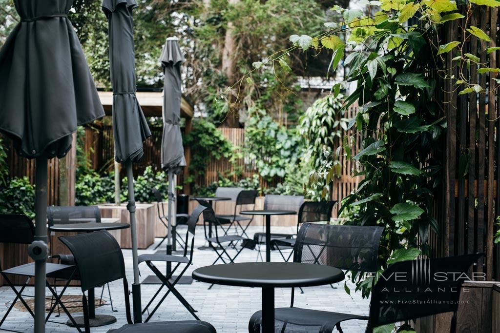 Garden Lounge at Pillows Anna van den Vondel, Netherlands
