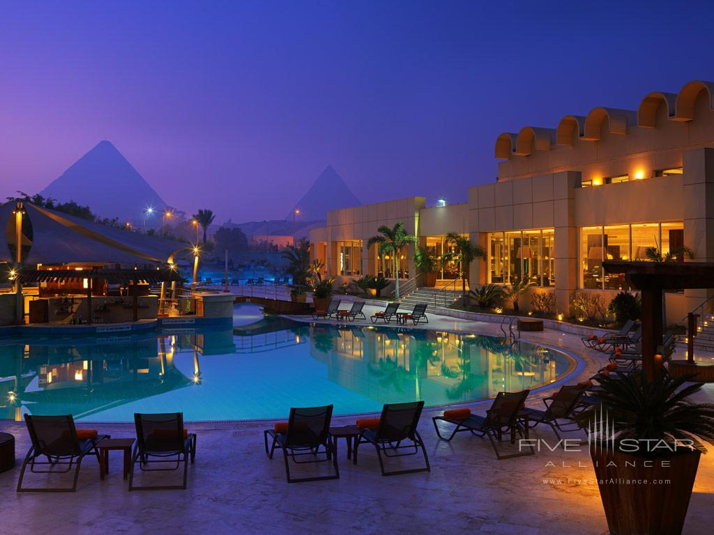 Outdoor Pool at Le Meridien Pyramids, Cairo, Egypt