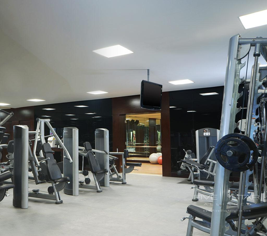 Fitness Center at Le Meridien Pyramids, Cairo, Egypt
