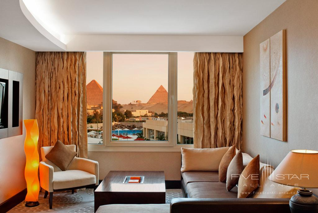 Deluxe Suite at Le Meridien Pyramids, Cairo, Egypt