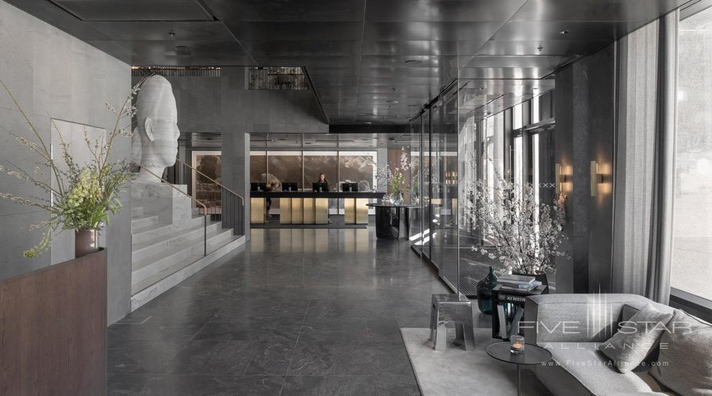 Lounge at At Six, Stockholm, Sweden