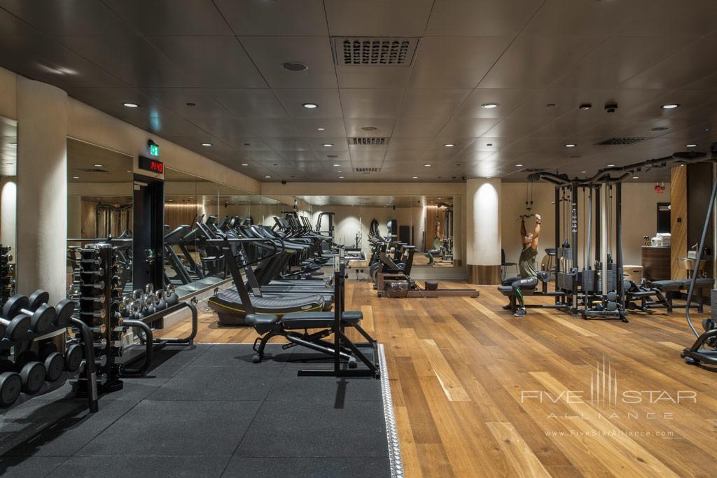 Fitness Center at At Six, Stockholm, Sweden