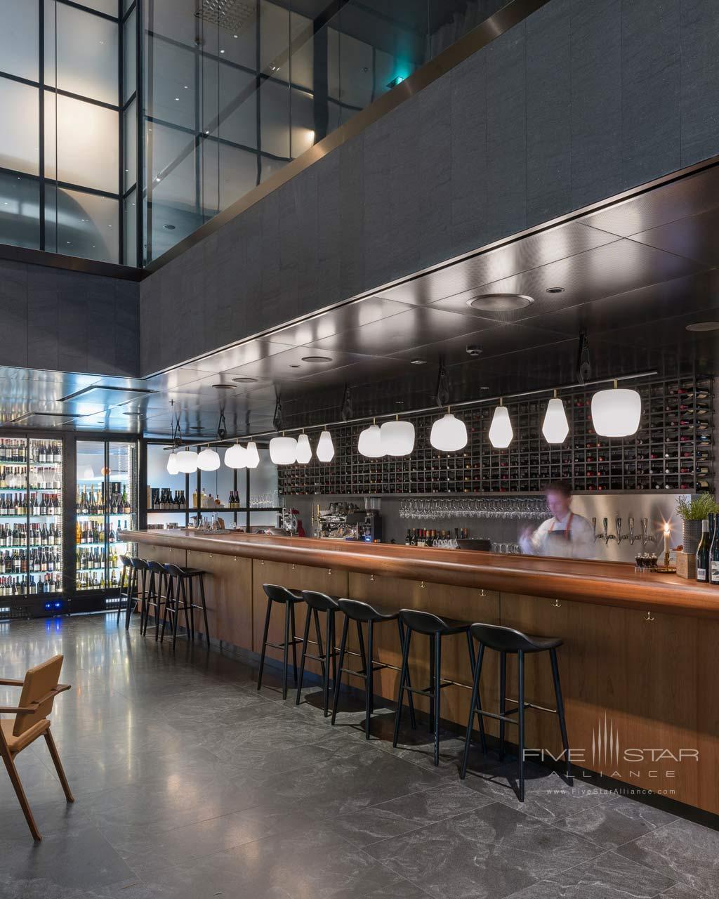 Wine Bar at At Six, Stockholm, Sweden