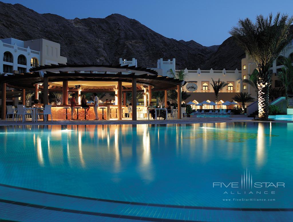 Outdoor Pool at Shangri-La Barr Al Jissah Resort and Spa, Muscat, Oman