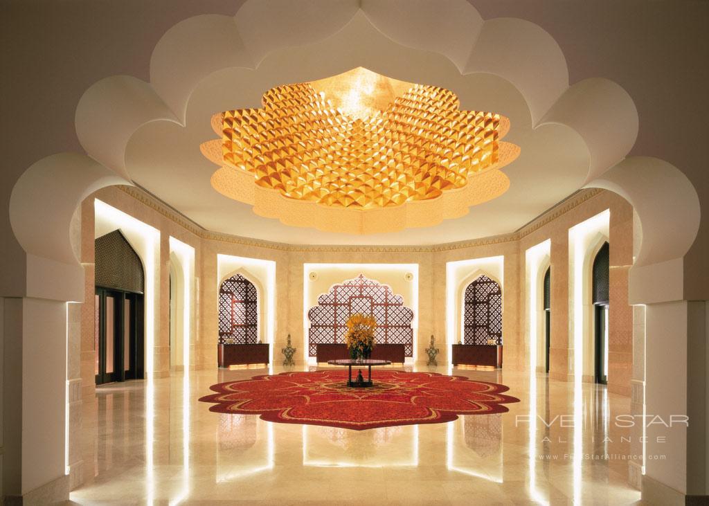 Lobby of Shangri-La Barr Al Jissah Resort and Spa, Muscat, Oman