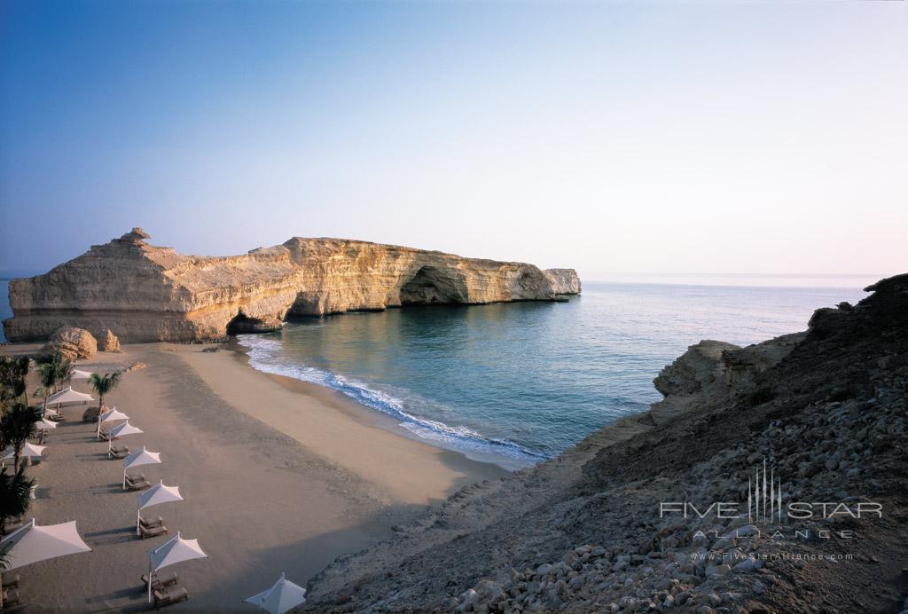 Beach at Shangri-La Barr Al Jissah Resort and Spa, Muscat, Oman