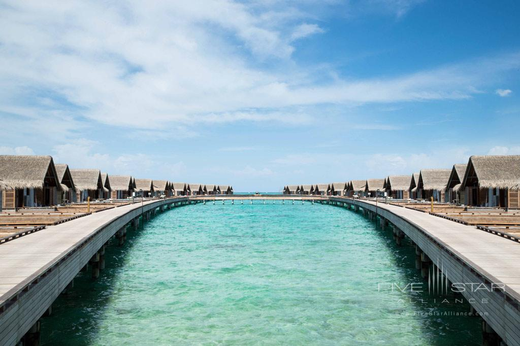 Water Views at Fairmont Maldives Sirru Fen Fushi, Maldives