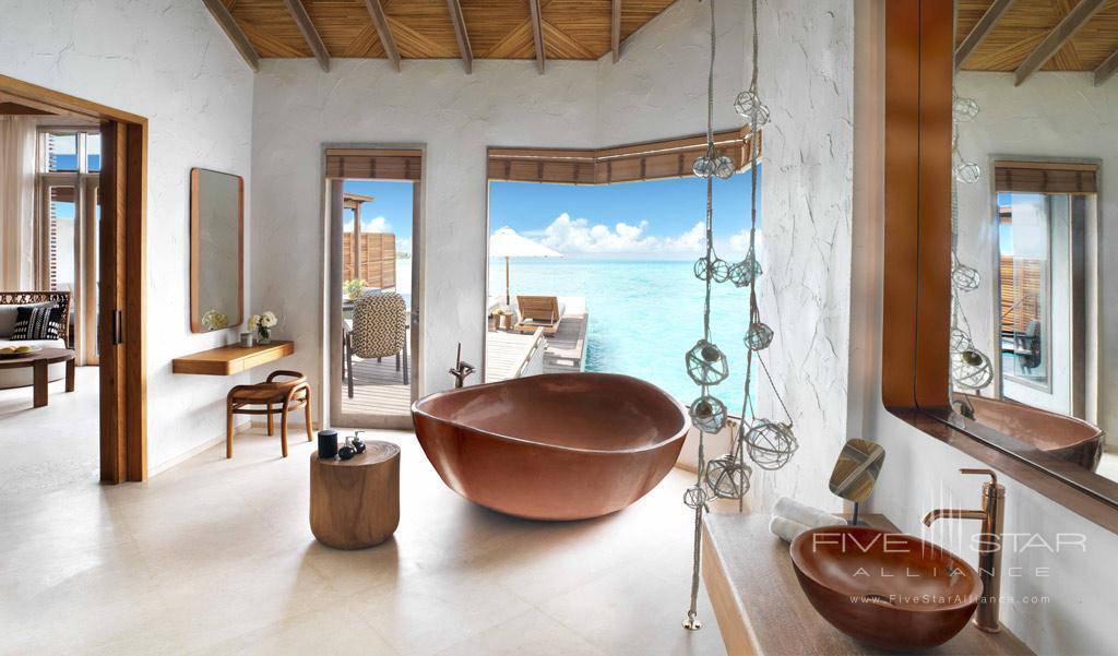 Premium Water Villa at Fairmont Maldives Sirru Fen Fushi, Maldives