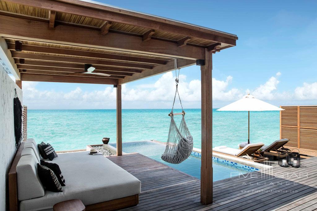 Water Villa at Fairmont Maldives Sirru Fen Fushi, Maldives