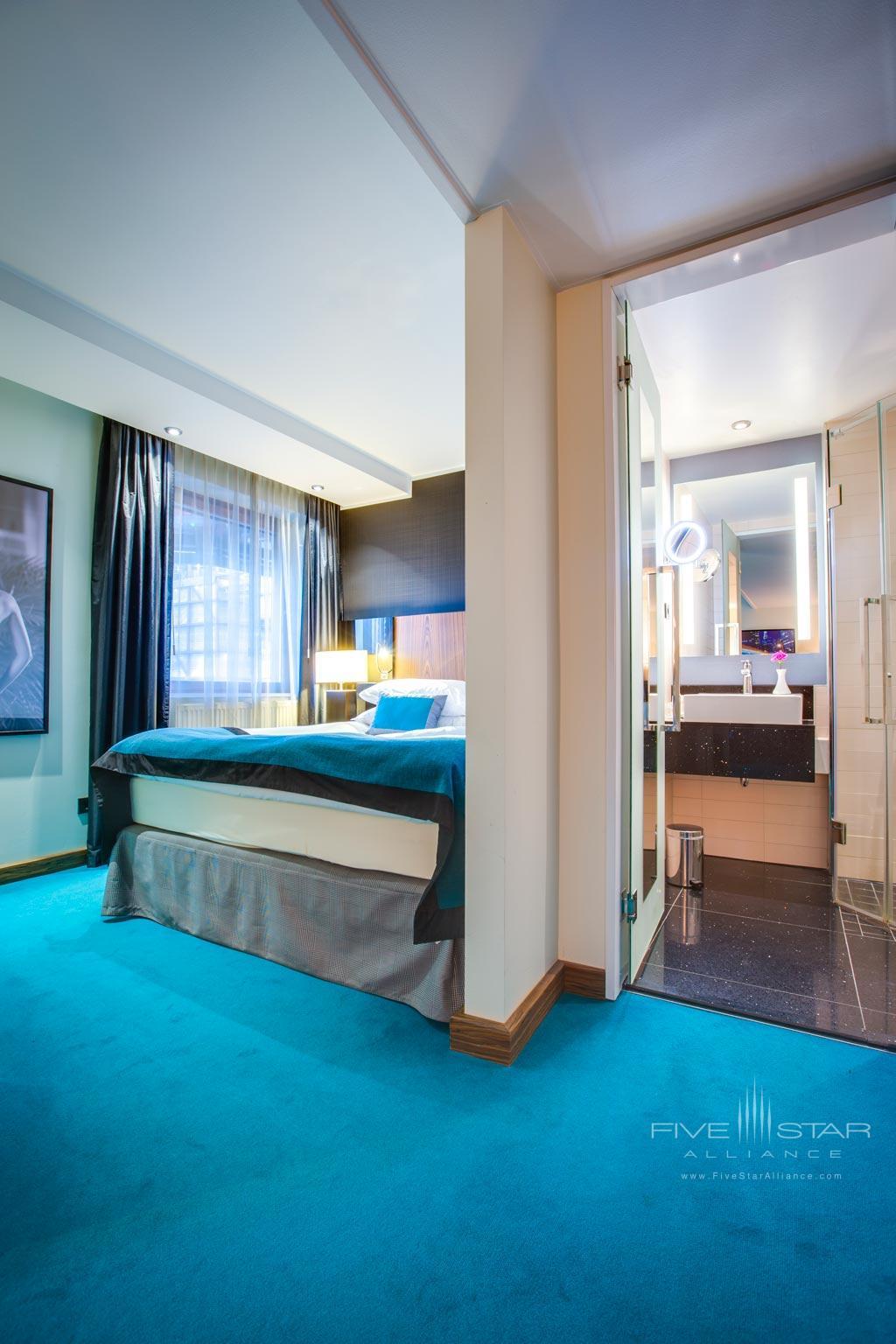 Guest Room at Radisson Blu Royal Viking Hotel Stockholm, Sweden