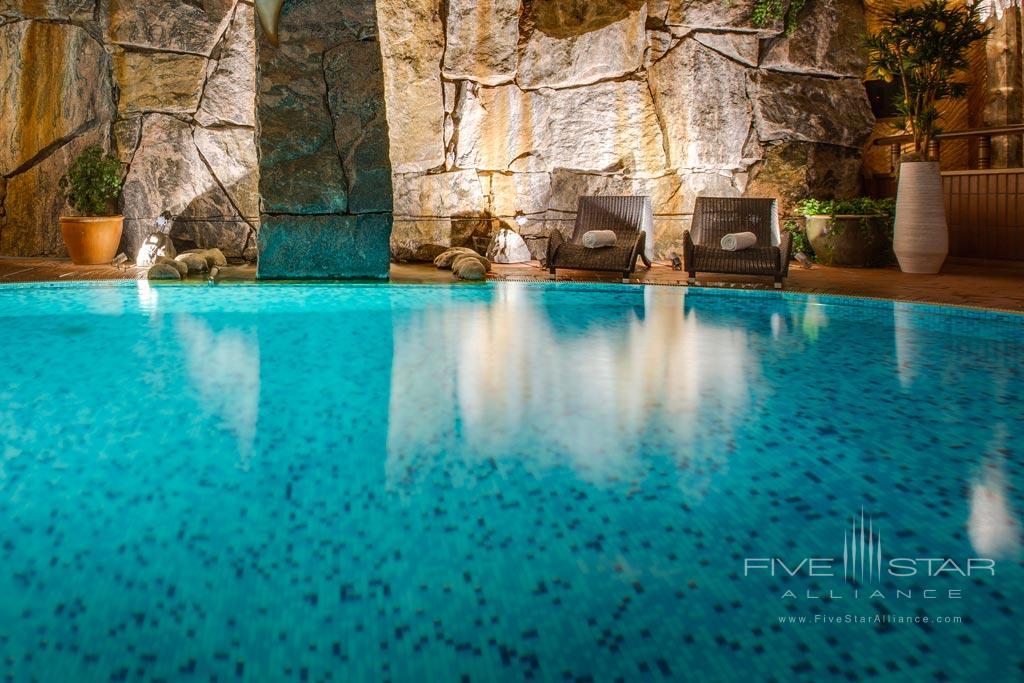 Indoor Pool at Radisson Blu Royal Viking Hotel Stockholm, Sweden