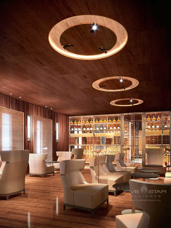 Lounge at Hotel Lutetia, Paris, France