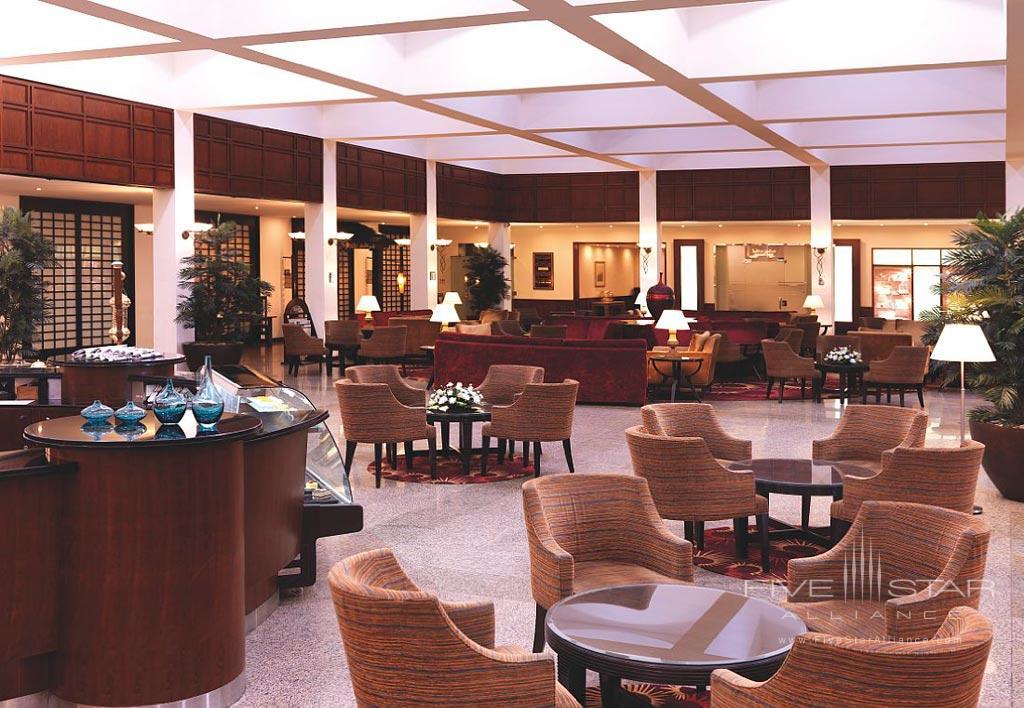 Lobby of Radisson Blu Hotel Jeddah, Saudi Arabia