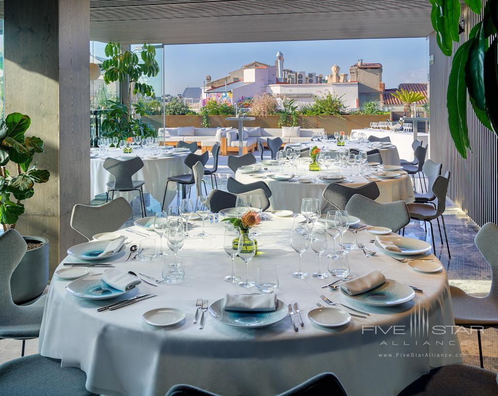 Mood Banquet Setup at The One Barcelona