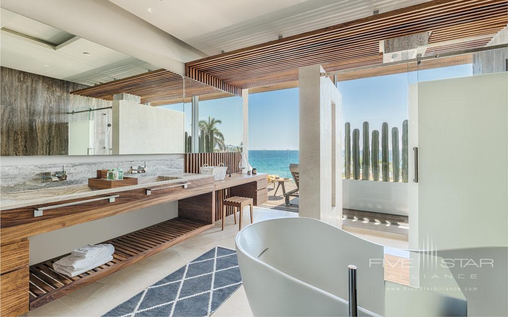 Guest Bath at Solaz Resort, San Jose del Cabo, Baha California Sur, Mexico