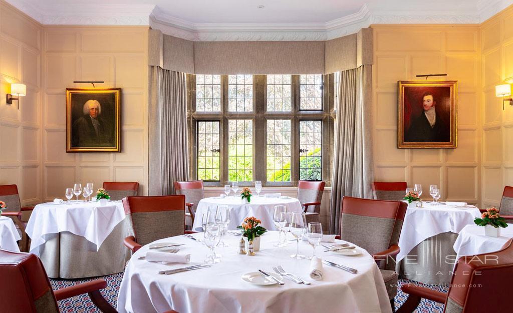 Dine at Buckland Manor, Worcs, United Kingdom