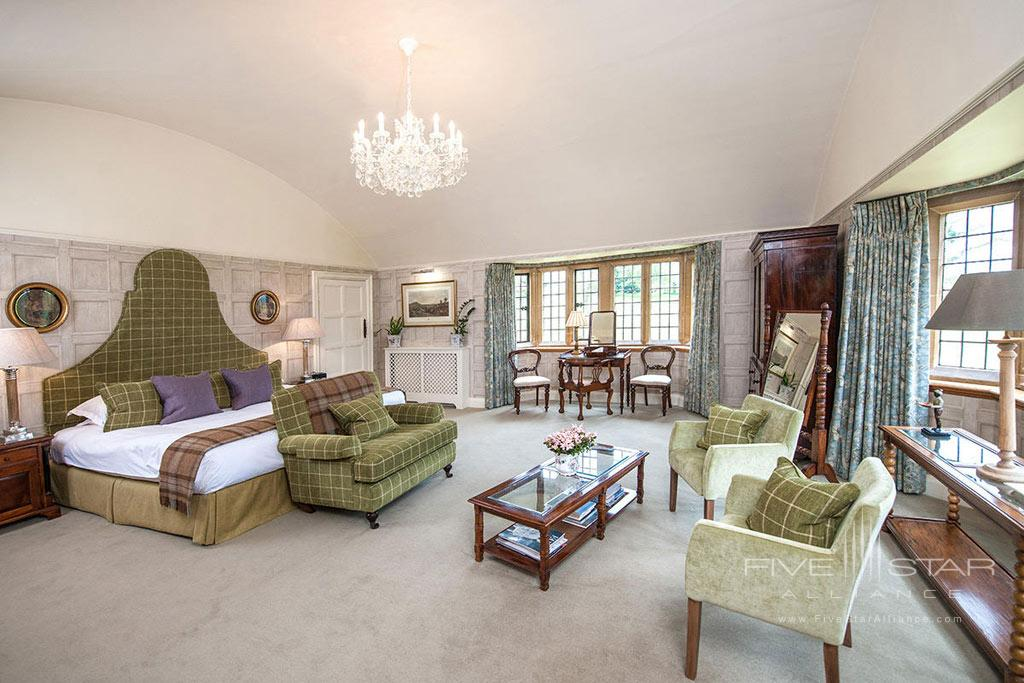 Guest Room at Buckland Manor, Worcs, United Kingdom