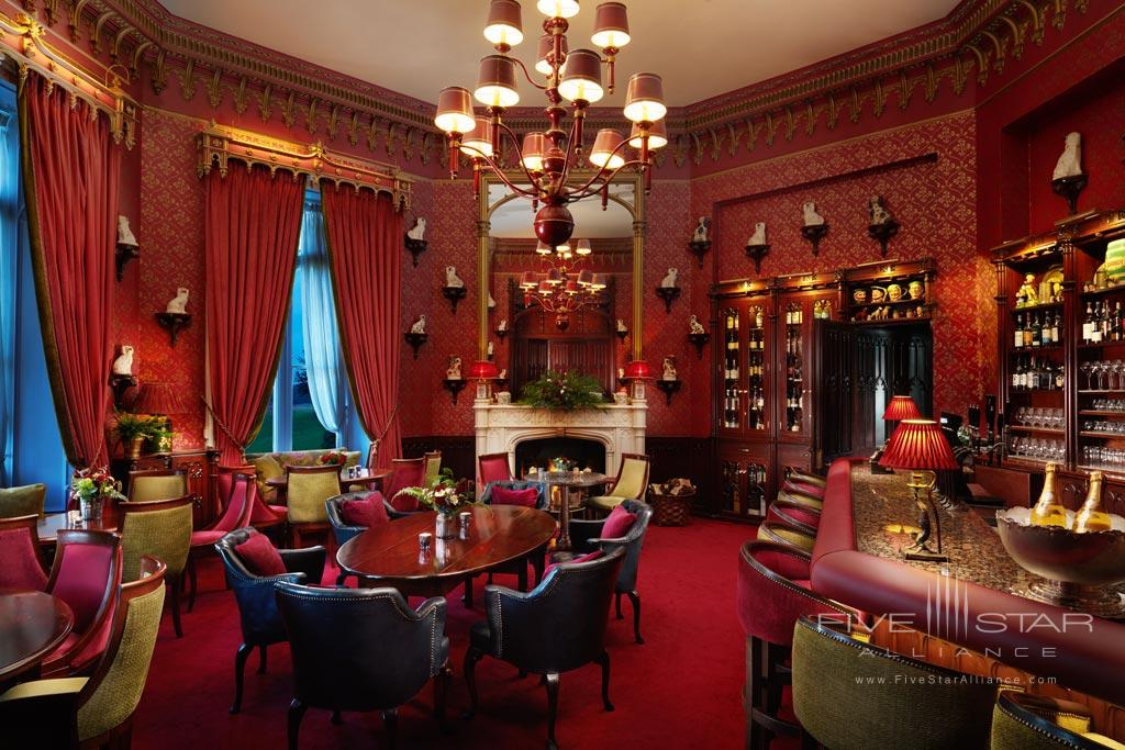 Cocktail Bar at Dromoland Castle Hotel, County Clare, Ireland