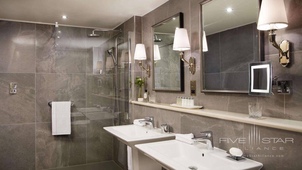 Guest Bath at Dromoland Castle Hotel, County Clare, Ireland