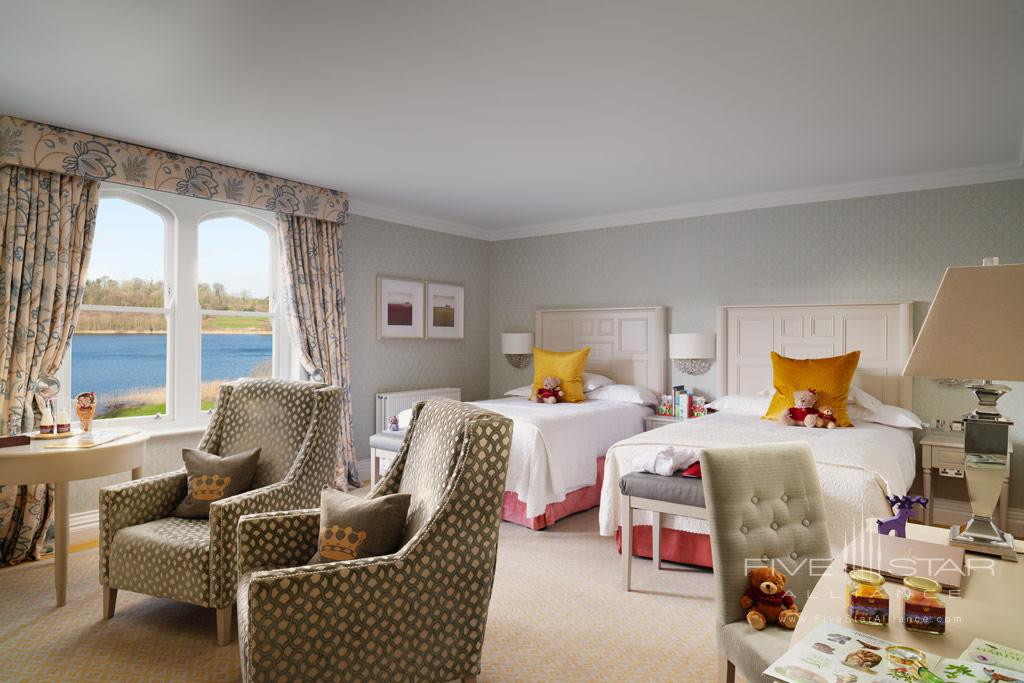 Deluxe Family Guest Room at Dromoland Castle Hotel, County Clare, Ireland
