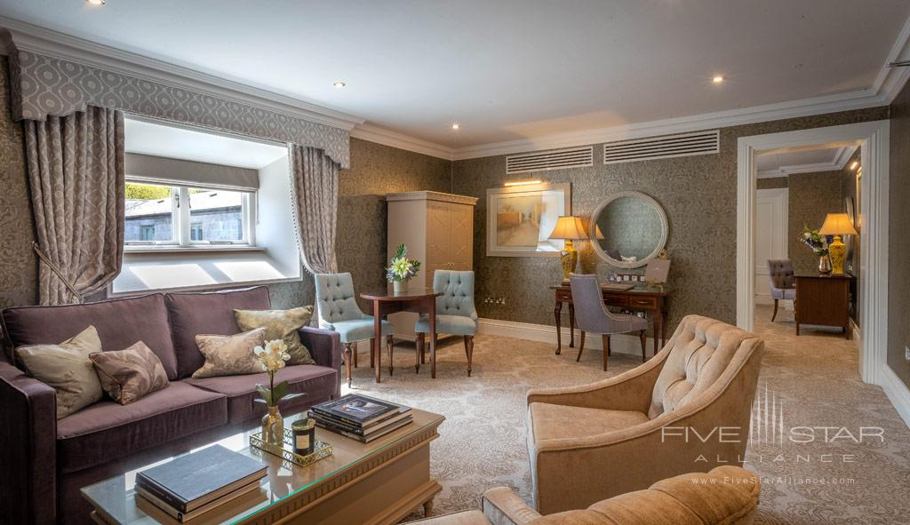 Executive Deluxe Suite at Dromoland Castle Hotel, County Clare, Ireland