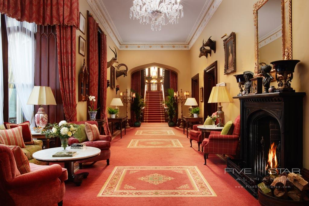 Guest Lounge at Dromoland Castle Hotel, County Clare, Ireland