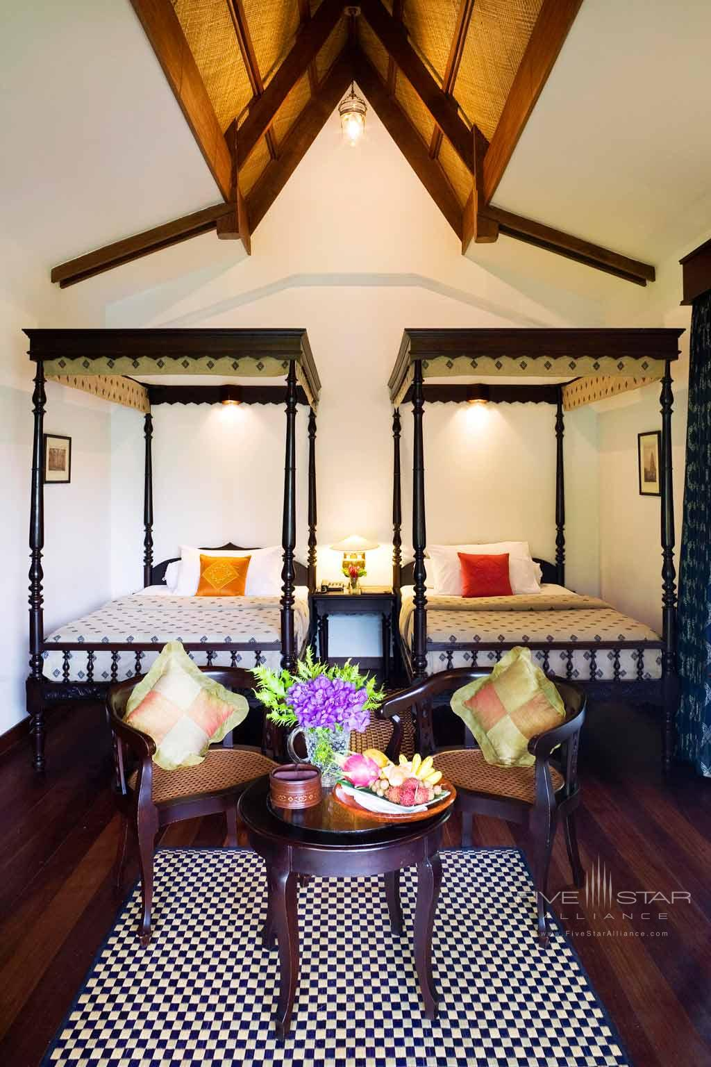 Travellers Twin Guest Room at Angkor Village Resort, Siem Reap, Cambodia