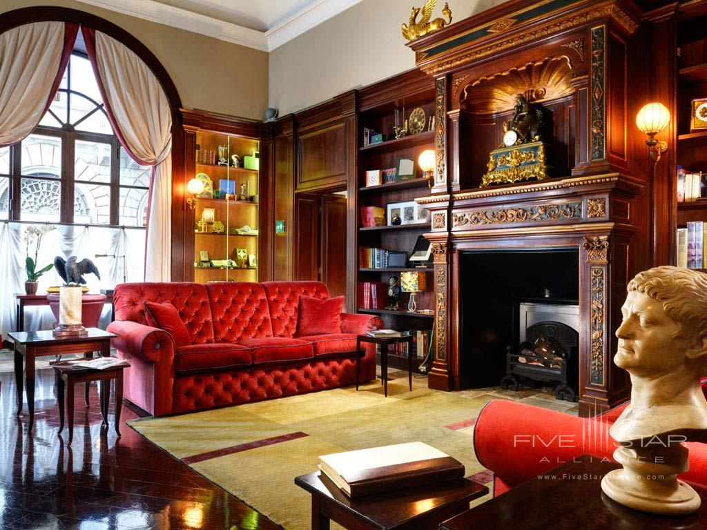 Guest Lounge at L'Orologio Firenze, Florence , Italy