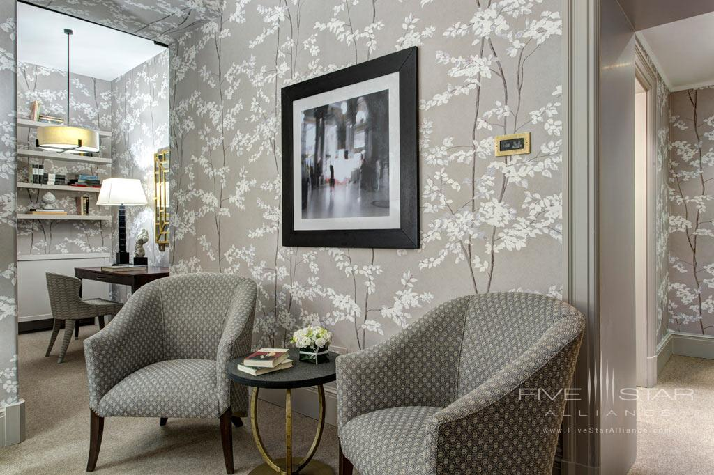 Deluxe Guest Room at Rocco Forte Hotel De Russie, Rome, Italy