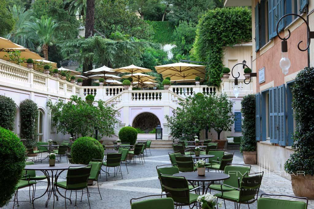 Piazzetta Valadier at Rocco Forte Hotel De Russie, Rome, Italy