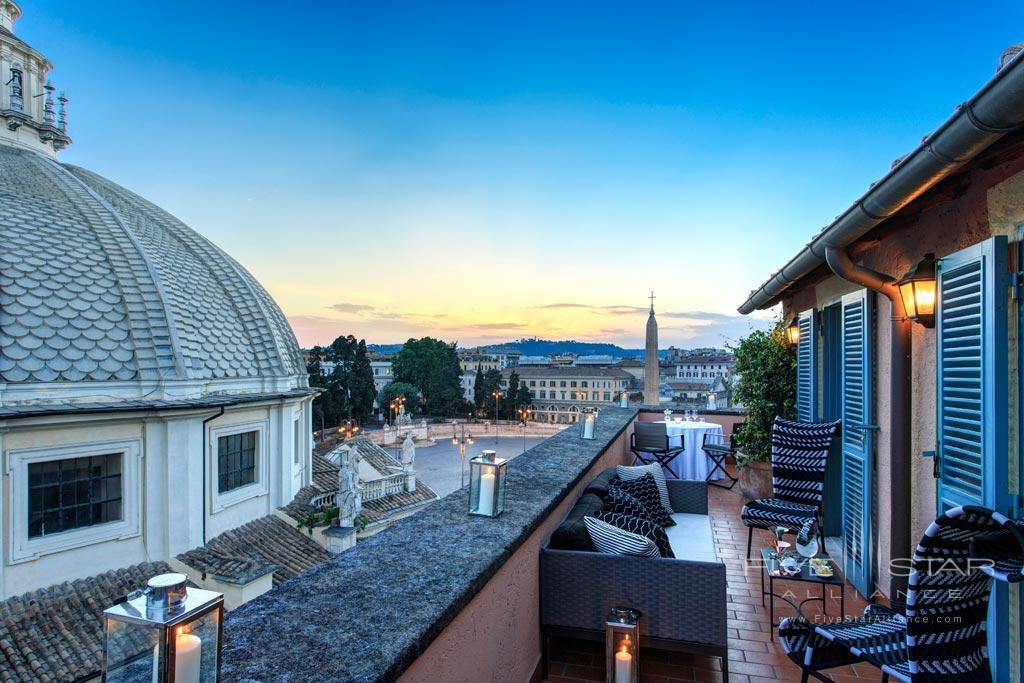 Popolo Suite at Rocco Forte Hotel De Russie, Rome, Italy