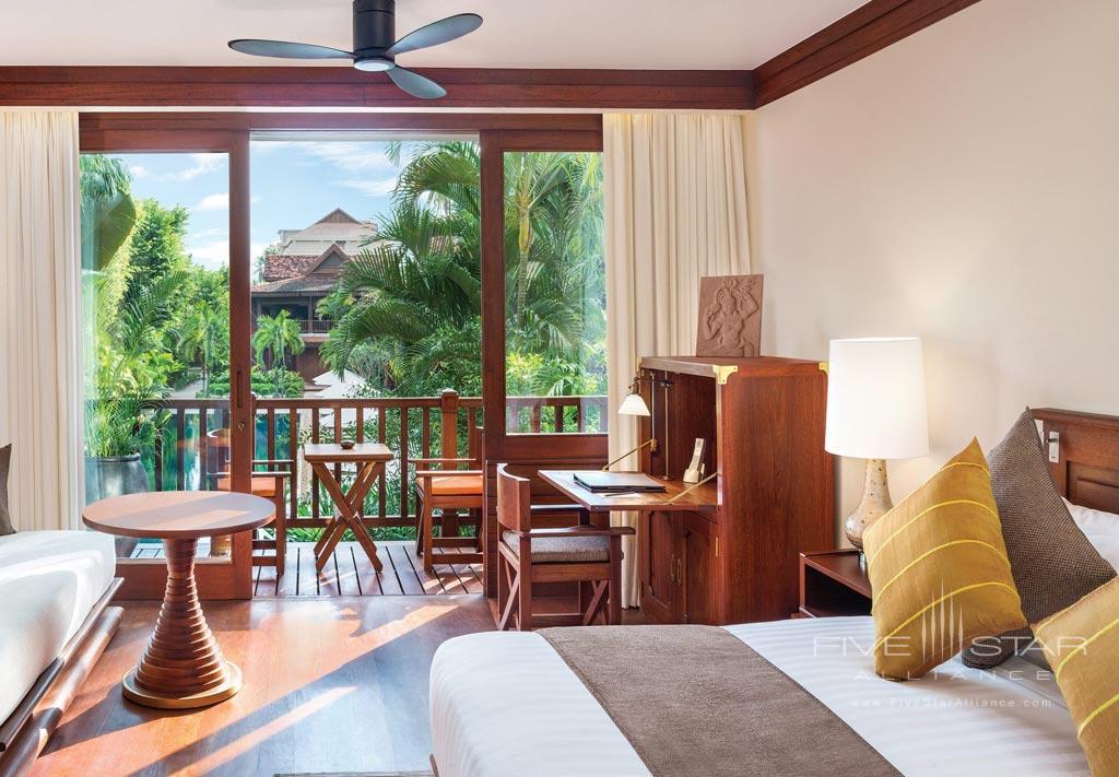 Poolside Jr Suite at Belmond La Residence d'Angkor, Siem Reap, Cambodia