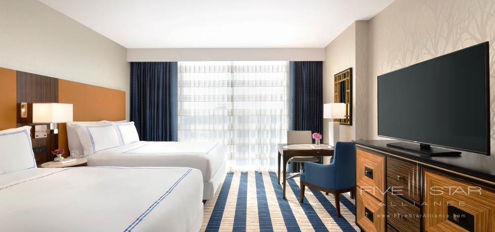 Double Guest Room at Fairmont Austin, TX