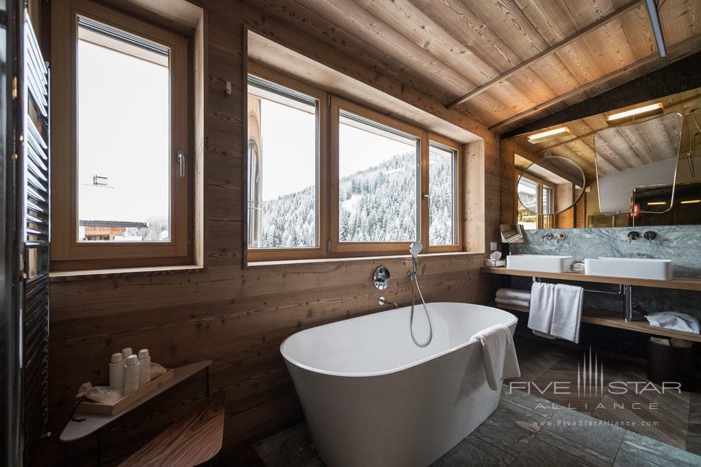 Suite Bath at Rosa Alpina, Badia BZ, Italy