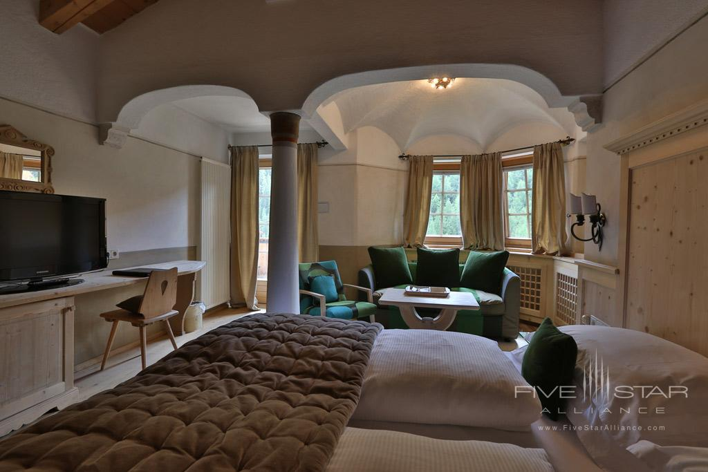Deluxe Guest Room at Rosa Alpina, Badia BZ, Italy
